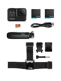 gopro-hero8-action-camera-bundle-incl-shorty-grip-head-strap-32gb-sd-card-and-spare-battery
