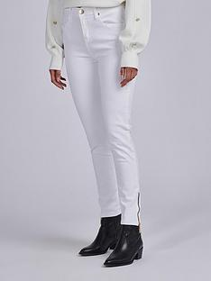 barbour-international-durant-zip-ankle-stretch-skinny-jean-white
