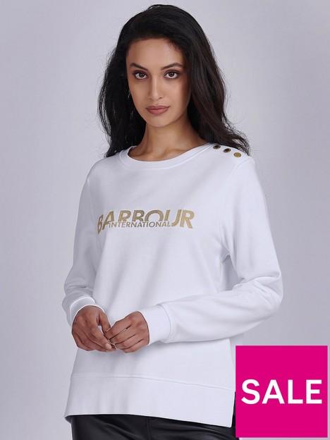 barbour-international-logo-crew-sweatshirtnbsp-white