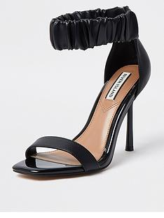 river-island-satin-rouched-ankle-strap-barely-there-sandal-black