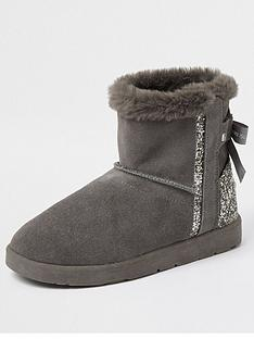 river-island-quilted-embellished-back-boot-grey