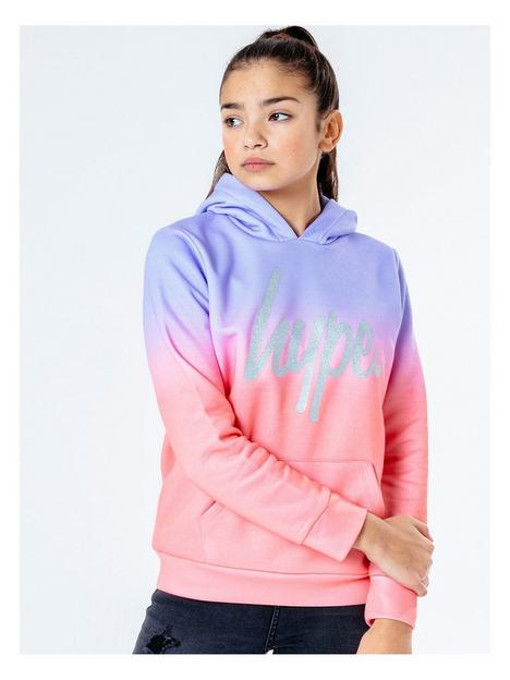 hype-girls-peach-fade-overhead-hoodie