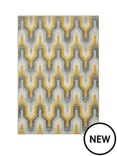 asiatic-nova-geo-yellow-rug