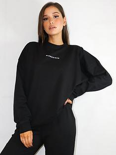 missguided-missguided-oversized-basic-sweat-black