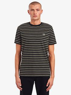 fred-perry-fine-stripe-t-shirt-green