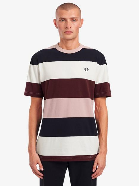 fred-perry-bold-stripe-t-shirt-snow-white
