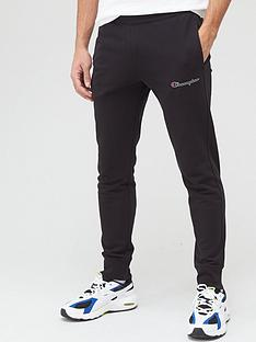 champion-small-logo-joggers-black