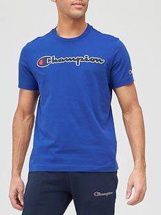 champion-logo-t-shirt-blue
