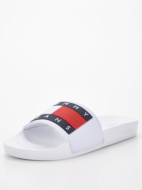 tommy-jeans-flag-pool-slide-white