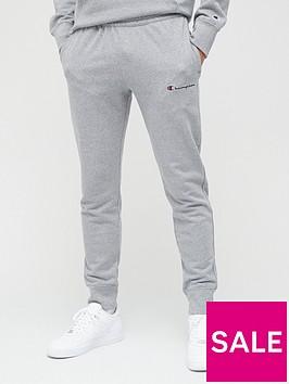 champion-small-logo-joggers-grey