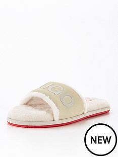 hugo-cozy-slider-slipper-cream