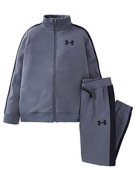 under-armour-boys-knit-track-suit-grey