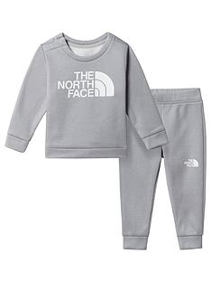 the-north-face-unisex-infant-sweat-top-amp-joggers-set-grey