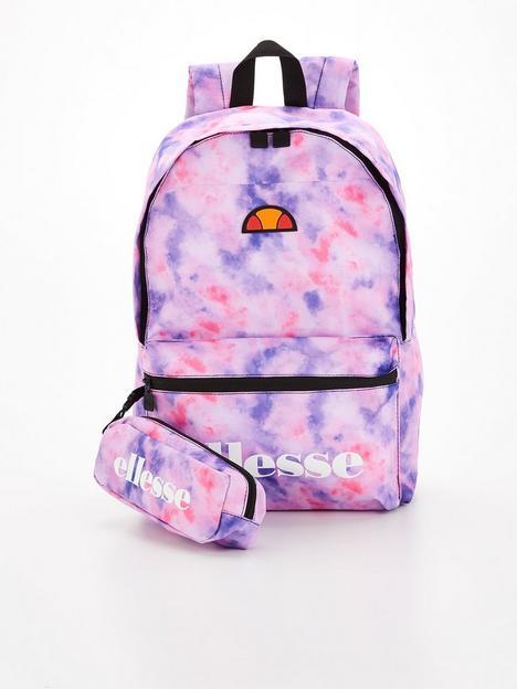 ellesse-unisex-junior-tie-dye-rolby-backpack-pencil-case-multi