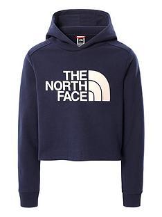 the-north-face-girls-drew-peak-crop-pullover-hoodie-navy