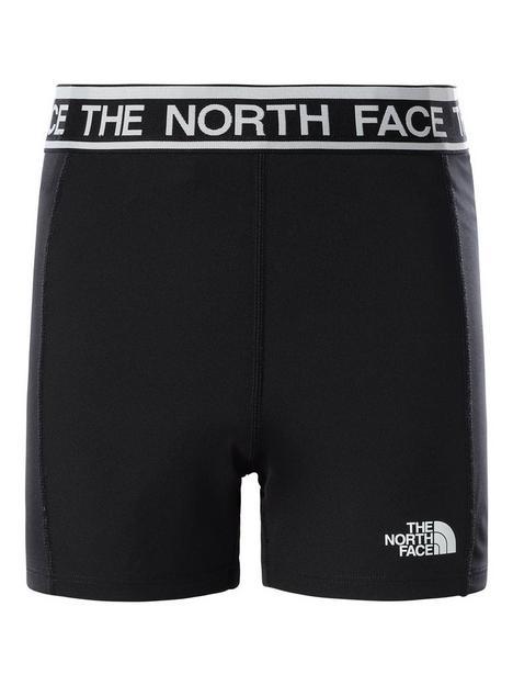 the-north-face-girls-bike-short-black