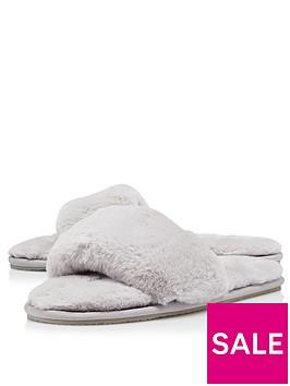 dune-london-snuggled-slippers-mink