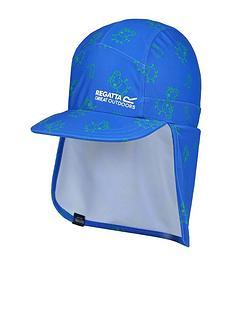 regatta-peppa-pig-sunshade-neck-protect-cap-blue