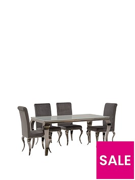 vida-living-ohio-160-cmnbspdining-table-nbsp6-chairs-whitesilver