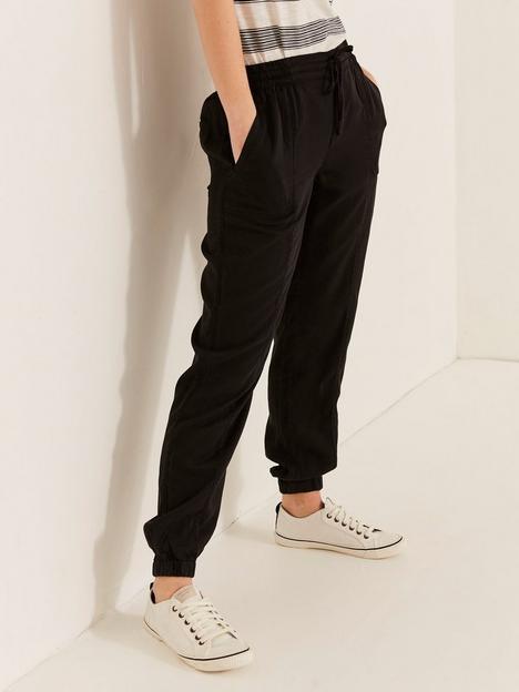 fatface-lymenbspcuffed-trouser-black