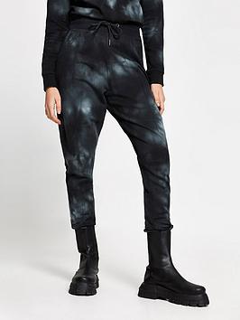 river-island-tie-dye-joggers-black