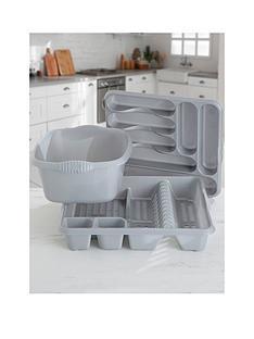 wham-casa-3-piece-kitchen-tidy-set--nbspgrey