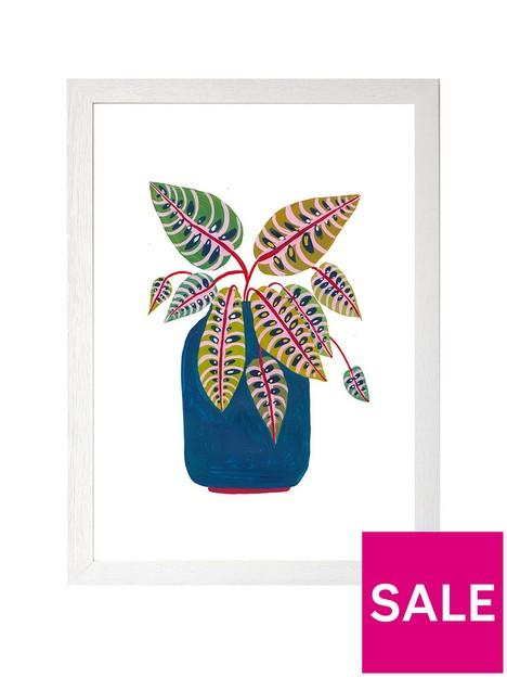east-end-prints-prayer-plant-by-amber-davenportnbspa3-framed-print