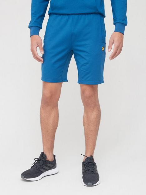 lyle-scott-fitness-superwick-shorts-deepnbspblue
