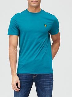 lyle-scott-fitness-martin-t-shirt-teal