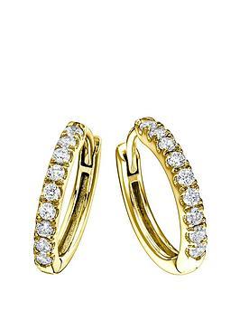 created-brilliance-julianbsp9ct-yellow-gold-032ct-lab-grown-diamond-hoop-earrings