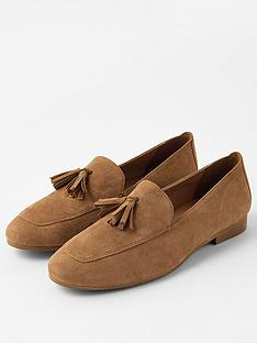 accessorize-suede-tassle-loafer-tan