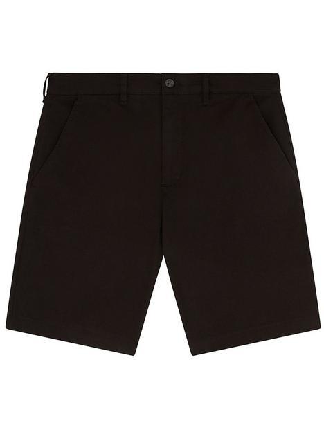 lyle-scott-chino-short-black