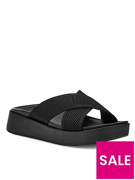 ugg-emily-mesh-flat-sandal--nbspnbspblack