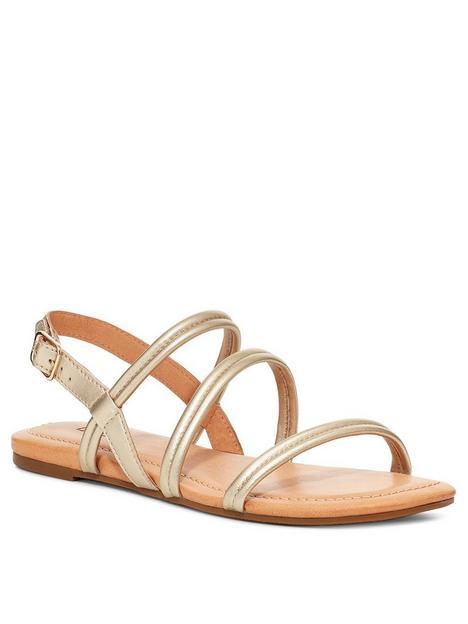 ugg-mytis-flat-sandal--nbspgold