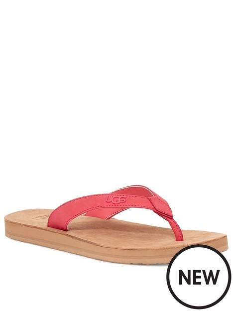 ugg-tawney-logo-flat-sandal--nbsppink