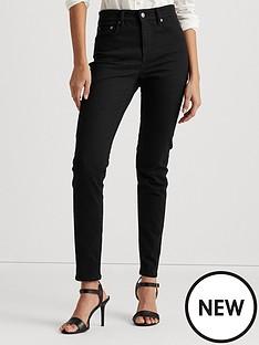 lauren-by-ralph-lauren-high-rise-skinny-5-pocket-denim-jean-black