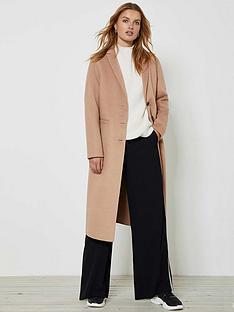 mint-velvet-wool-blend-coat-camel