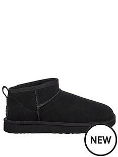 ugg-w-classic-ultra-mini-ankle-boot-black
