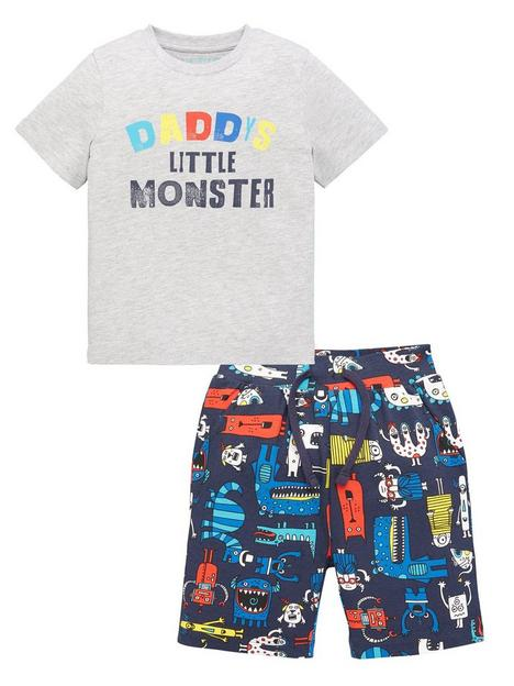 mini-v-by-very-boys-little-monster-fathers-day-pj-multi