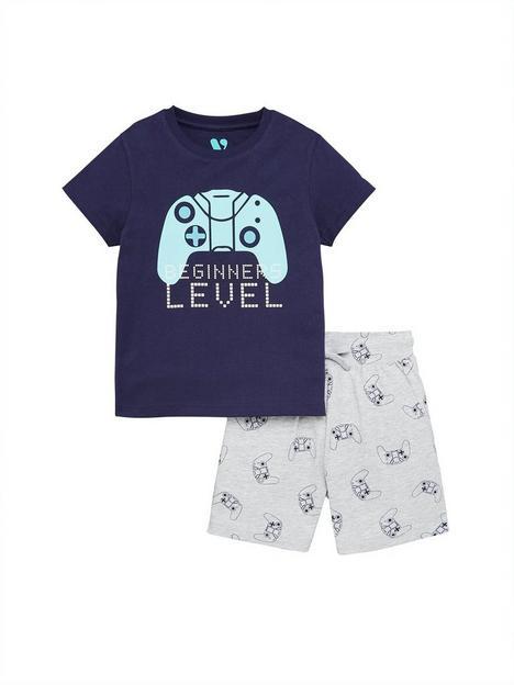 mini-v-by-very-boys-beginner-level-family-fathers-daynbsppyjamas-multi