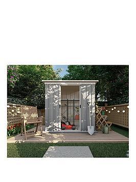 yardmaster-yardmaster-6-x-4-ft-platinum-tall-metal-pent-roof-shed