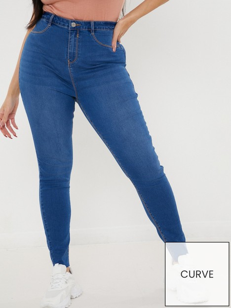 missguided-plus-missguided-plus-lawless-high-waisted-supersoft-skinny-jean-vintage-blue