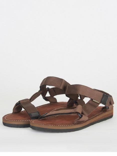 barbour-hillman-trek-sandal-brown