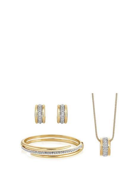 buckley-london-aspire-pendant-earrings-bangle-set
