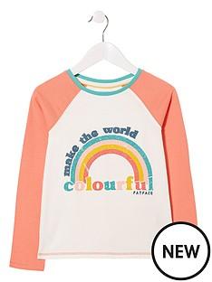 fatface-girls-long-sleeve-be-colourful-graphic-tshirt-ecru