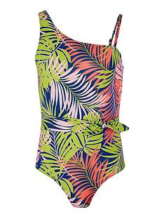 monsoon-girls-sew-storm-palm-printed-belted-swimsuit-blue