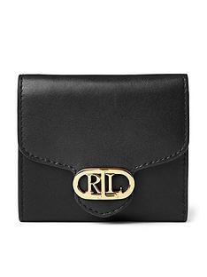 lauren-by-ralph-lauren-leather-compact-purse-black