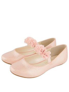 monsoon-girls-cynthia-corsage-flat-shoe-pink