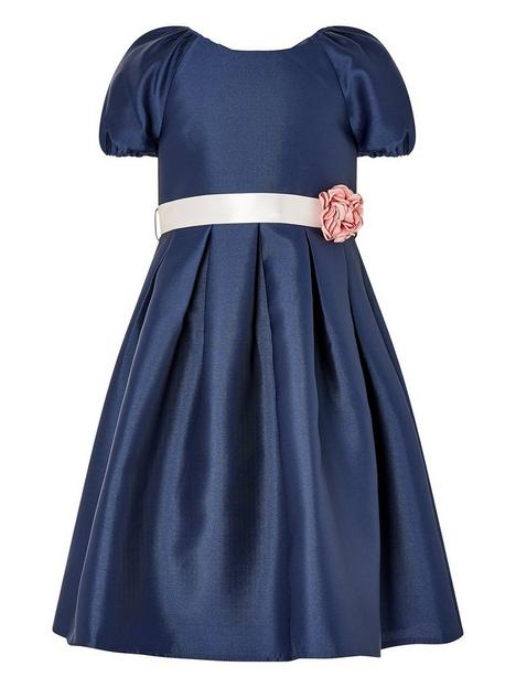 monsoon-girls-sew-puff-sleeve-duchess-twill-dress-navy