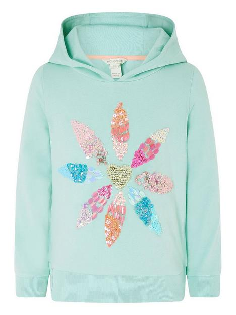 monsoon-girls-embellished-flower-hoodie-aqua